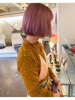 チカシツ(Chikashitsu)pink bob