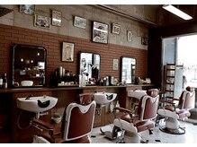 バーバーズ ネオ グリコ(barber's neo glico)の雰囲気(次世代型【barber】へ、ぜひ一度お越しください。)