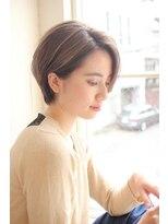 ガーデン ハラジュク(GARDEN harajuku)【Grow】高橋 苗 大人可愛い【小顔ひし形】絶壁解消ショート