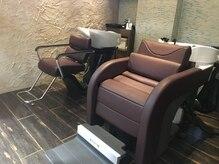 セピアージュ アン(hair beauty clinic salon Sepiage un)の雰囲気(凛としたシャンプースペースをご用意しております。)