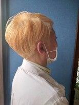 《Kubu hair》大人のハイトーンショート