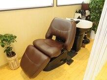 ヘアデザインフルーヴ(hair design fleuve)の雰囲気(シャンプー台は極上の寝心地を再現する話題の「YUME」です。)