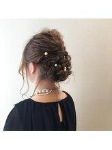 ルアナ ヘアメイク(Luana hair make)結婚式お呼ばれヘアアレンジ