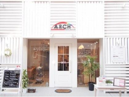アーチ ヘアデザイン 南口店(ARCH HAIR DESIGN)の写真