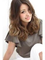 【Rose】グラデーションカラー×セミディ☆