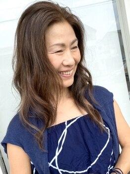 ヘアードットツミキ(HAIR.TSUMIKI)の写真/[デザインカット+カラー+贅沢トリートメント ¥10400]髪と頭皮に優しいオーガニックカラー剤を使用☆