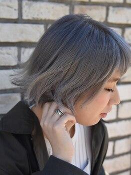 アンシー ヘア デザイン(an-cie hair design+)の写真/新シャンプー導入で色持ちアップ♪シャンプー&トリートメント各4種類・全ラインにSSVRシルク配合!