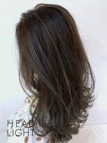 フローレス バイ ヘッドライト 三鷹店(hair flores by HEADLIGHT)グレージュ×ゆるふわカール_SP20210206