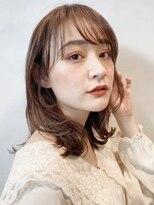 ガーデントウキョウ(GARDEN Tokyo)【GARDEN荒井夏海】小顔カットと大人かわいいミディアムレイヤー