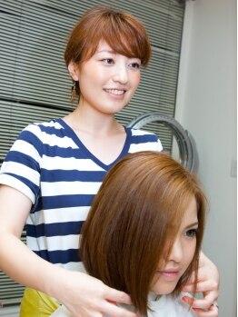 ヴィヴィット美容室(ViViTO)の写真/ちゅるんっと指通り滑らか!!ダメージを受けすぎてしまった髪の毛もOK♪ツヤ感UPでまとまる美髪が叶う☆
