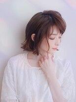 ムーン(moon)大人かわいい☆エアリー感のある王道ワンカールボブ【武蔵小杉】