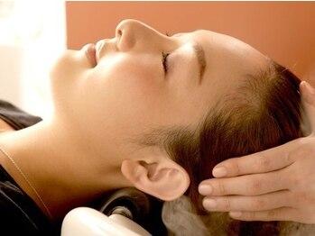 ヘアレスキュー クルアルガの写真/頭皮環境を整える為スパニストにより個々の頭皮環境に合わせて6種のオイルを用いてマッサージを行います