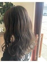 ゲリール 中野店(guerir hair+care)ゆるふわアッシュベージュ