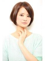 ジョエミバイアンアミ(joemi by Un ami)【joemi】カットだけでOK☆あごラインのすっきりボブ(大島)