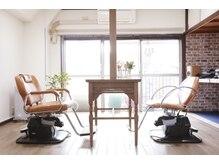 ヘアメイク フラリ(hair&make fulari)の雰囲気(マンション一室を改装した手造りサロン)