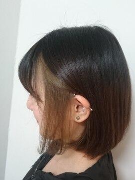 ソイル ヘアー(soil hair)イヤリングカラー