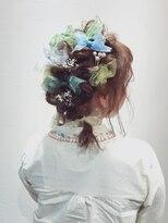 アリス ヘア デザイン(Alice Hair Design)Alice☆卒業式×リボンのツインアレンジ