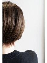 ビーヒアナウ(BE HERE NOW)ピンクバイオレット裾カラー
