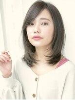 アグ ヘアー ジャパン 札幌9号店(Agu hair japan)品よく清楚な内巻きミディ