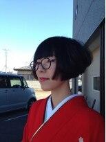 ガーデン ヘアー ワーク(garden hair work)新春 KIMONO 凛としたレトロSTYLE 2014