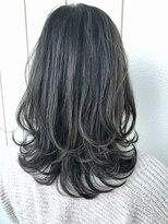 ヘアーサロン リアン 鴻巣店(hair salon Rien)#ダークグレージュ#ゆるふわ