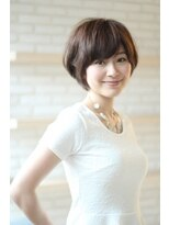 ジーナハーバー(JEANA HARBOR)30代40代☆大人ナチュラルボブ☆