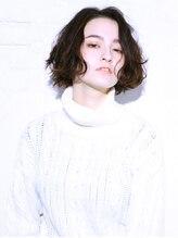 バッテリー ヘアアンドメイク 塚口店(Battery hair&make)ニュアンス大人ボブ