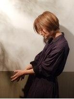 ムーン(moon)艶髪☆大人のハンサムショート サイド