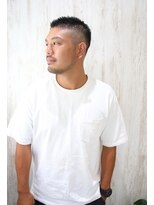2020年冬】メンズ|ベリーショート ワイルドツーブロックの髪型