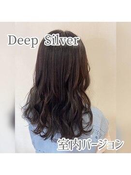 リミックス 飯塚店(Remix)暗めカラーでオススメな「ディープシルバー」で色落ちも可愛く