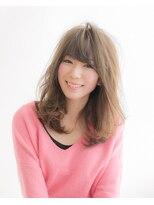 ムード 金沢文庫 hairdesign&clinic mu;d大人可愛いロングレイヤー