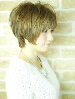 サラヘアー(sarah hair)【sarah 銀座】動きのある美サイドシルエットショート