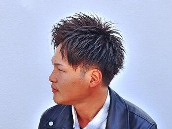 hair salon 華化の写真/【お得なクーポンご用意あり★カラー+カット】白髪が気になる方でも、さり気なくお洒落なカラーに♪