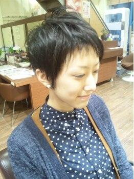 フジ(Fu ji)の写真/向洋駅前■常連さんにも主婦・ママ世代の多いお店。お手入れしやすいカットが人気です♪
