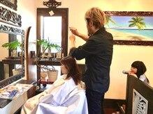 ヘアープレイス マテリアル(Hair Place Material)の雰囲気(親子でカットは貸し切りになります。)