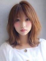 アグ ヘアー ロッソ 福島店(Agu hair rosso)《Agu hair》ウザバング×アンニュイミディ