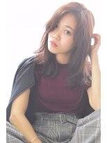 ヘアーサロン エール 原宿(hair salon ailes)(ailes原宿)style274 デザインカラー☆とろみカジュアル