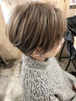 カラーファクトリーゴジュウゴ(color factory55)の写真/カラー専門店だからこそ、あなたの理想の髪色に幅広く対応!髪を染めながら、エイジングケア効果も◎
