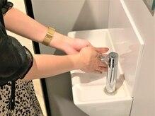 全スタッフの手洗い・うがいの徹底