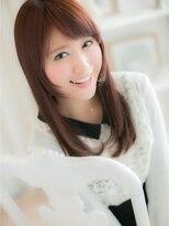 姫カット風☆カジュアルロングa