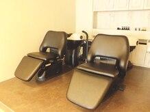 ライクチェアー(like Chair...)の雰囲気(最高の寝心地のシャンプー台)