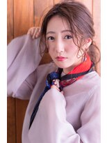 ヘアサロン リコ(hair salon lico)ノットヘア×大人ポニーヘアアレンジ【hair salon lico】
