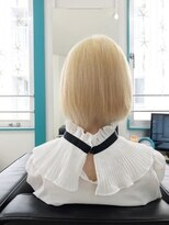 マーメイドヘアー(mermaid hair)ハイブリーチ→ホワイト☆