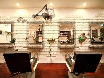 ヘアサロン チェルシー(hair salon chelsea)の写真/【北山エリア】『信頼』と『コミュニケーション』を大切にしている私だけのプライベートサロン、chelsea 。