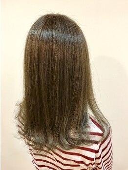 美容サロン シオン 菊水店の写真/菊水駅直結!気になるクセを解消し自然な仕上がりに*まとまりのいいしなやかな髪へと導き心躍る日々を。