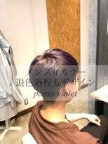 ダブルケーツー 倉敷店(wk-two)☆メンズWカラー pansy violet☆