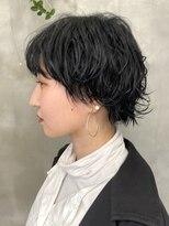 テトヘアー(teto hair)伸ばしかけウルフ ミニウルフ