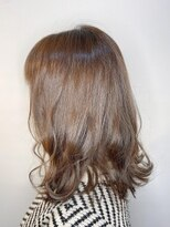 フレア ヘア サロン(FLEAR hair salon)オフィスで働く女性にオススメベージュ!_Aラインボブ