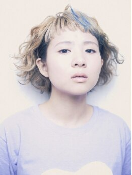 """ヘアメイク アンジー(hair make anjii)の写真/《今夏大注目!!》仕上がりの高彩度/透明感が魅力の""""アプリエカラー""""はダメージレスで理想の色味を再現"""