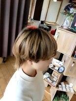 ヘアラボウィッシュ(hair labo Wish)春ウルフ